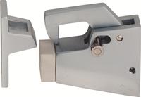 Woelm Deurvastzetter aluminium f1 120mm 1061-31