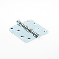 Axa Kogellagerscharnier topcoat gegalvaniseerd ronde hoeken 89 x 89mm 1533-25-23/E