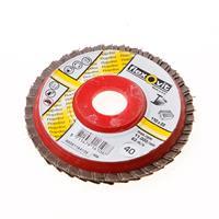 Flexovit Vlaklamellenschijf FI FLD FDSP diameter 110 x asgat 22mm P40