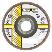 Flexovit Vlaklamellenschijf FI FLD FDSP diameter 110 x asgat 22mm P120