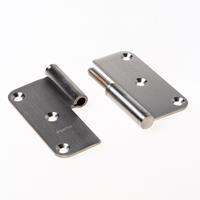 Argenta paumelle roestvaststaal 89x89mmx2,5 12mm din LS