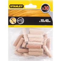 Stanley deuvels 10,0 x 40mm (30x)
