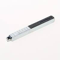Intersteel Wisselstift keilbout bevestiging 8 x 80mm met moer 01422b