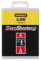 Stanley nieten type A (3/53/530) 6 mm 1000 stuks