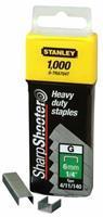 Stanley nieten type G (4/11/140) 10 mm 1000 stuks