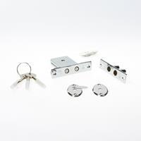 Dulimex DSKG 6004BKA Insteek-bijzetslot gelijksluitend per 4 stuks niet nabestelbaar SKG* 0160.299.6004