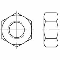 FAST-X Zeskantmoer DIN934 Staal 12.9 M16
