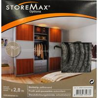 Storemax stootstrip kunststof grijs 275 cm