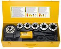 Rems Amigo 2 Compact Set R 1/2-3/4-1-1 1/4-1 1/2-2 Elektrisch Draadsnij-ijzer met snelwisselsnijkoppen 540024