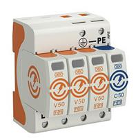 Obo V50-3+NPE-280 - Combined arrester for power systems V50-3+NPE-280 - special offer