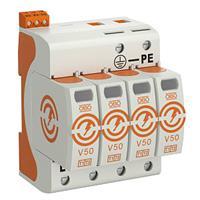Obo V50-4+FS-280 - Combined arrester for power systems V50-4+FS-280