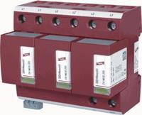 Dehn DV M TNC 255 FM - Combined arrester for power systems DV M TNC 255 FM