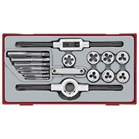 Teng Tools - TTTD17 17-delige Tap- en kussenset in tc-tray
