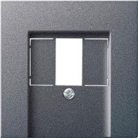 Gira 027628 - Central cover plate TAE 027628