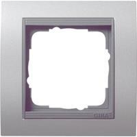 Gira 021106 - Frame 1-gang aluminium 021106