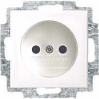 Busch-Jaeger Busch-balance SI wandcontactdoos zonder randaarde, wit