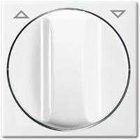 Busch-Jaeger Busch-balance SI centraalplaat voor jaloeziesturing met opdruk, wit