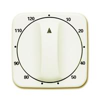 Busch-Jaeger 1771-212-103 - Cover plate for time switch cream white 1771-212-103