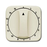 Busch-Jaeger 1770-212-103 - Cover plate for time switch cream white 1770-212-103