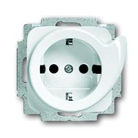 Busch-Jaeger 20 EUCDR-214 - Socket outlet (receptacle) white 20 EUCDR-214