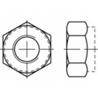 Zeskantmoeren M3 ISO 10511 Staal Galvanisch verzinkt 1000 stuks TOOLCRAFT TO-5440119