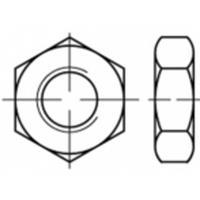 Zeskantmoeren M6 ISO 4035 Staal Galvanisch verzinkt 100 stuks TOOLCRAFT TO-5417124