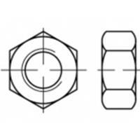 Zeskantmoeren M4 ISO 4032 Staal Galvanisch verzinkt 100 stuks TOOLCRAFT TO-5416827