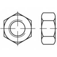 Zeskantmoeren M42 ISO 4032 Staal Galvanisch verzinkt 1 stuks TOOLCRAFT TO-5416863