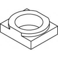 820210200100000 Artikel 82021 smeedijzeren W thermisch verzinkt LINDAPTER-Rezessfullplatten W, voor het verkrijgen van gladde oplagen afmeting: W 10 / 5,5 N/A