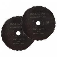 Batavia 7062142 Cirkelzaagblad - 10 x 85 x 80T - Hout / Stenen / Laminaat