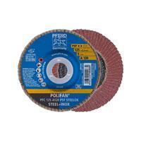 POLIFAN-tandveerring PFC 125 A 120 PSF STEELOX Pferd 67749125 Diameter 125 mm