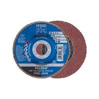 POLIFAN-tandveerring PFF 115 A 40 SG STEELOX Pferd 67604115 Diameter 115 mm