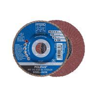 POLIFAN-tandveerring PFF 115 A 120 SG STEELOX Pferd 67612115 Diameter 115 mm