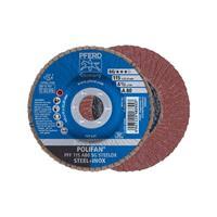 POLIFAN-tandveerring PFF 115 A 80 SG STEELOX Pferd 67608115 Diameter 115 mm