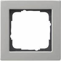 Gira 021133 - Frame 1-gang stainless steel 021133