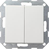 Gira 2860201 - Series switch flush mounted white 2860201