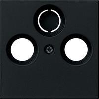 Gira Inzetplaat Coax antenne mat zwart IP20  0869005