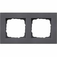 Gira 0212235 - Frame 2-gang anthracite 0212235