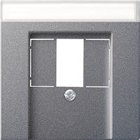 Gira 087628 - Central cover plate TAE 087628