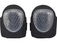 TOOLCRAFT TO-4997196 TOOLCRAFT Kniebeschermer met gel 1 paar Doorschijnend, Zwart