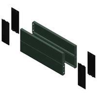 Schneider Electric - S SF/SM sokkel voor kast/lessenaar, staal, grijs, (hxd)