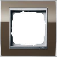 gira 0211766 - Frame 1-gang brown 0211766