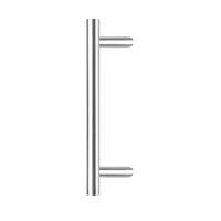 intersteel Deurgreep per stuk T-schuin 600x90x30 HoH 400 rvs