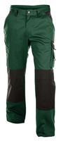 Dassy broek boston groen-zwart 44 (245g-m2)