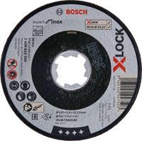 Bosch 2608619260 X-Lock Slijpschijf Expert for Inox - Recht - 115mm