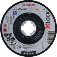 Bosch 2608619253 X-Lock Slijpschijf Expert for Metal - Recht - 2,5 x 115mm