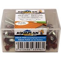 Aquaplan Aqua-pan schroef rood 40 stuks