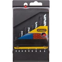 Stanley boorcassette 9-delig met/st