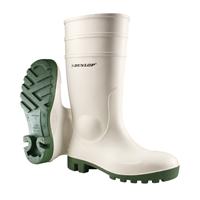 Dunlop 171BV Protomastor Safety S4 wit/groen Wit/Groen - Maat 43