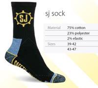 Safety Jogger SJ Sokken 3-Pack 77.5157.500 Zwart/Grijs - Maat